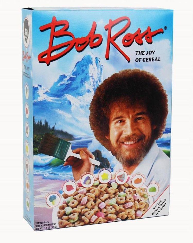 Cereal de Bob Ross