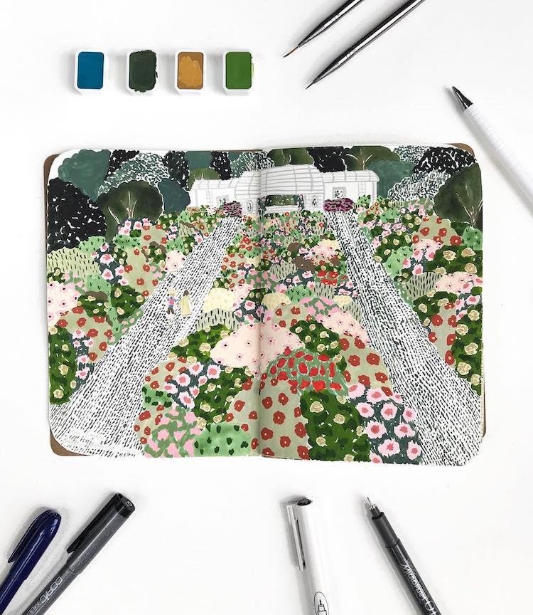 Botanical Illustration Skillshare Class by Sara Boccaccini Meadows