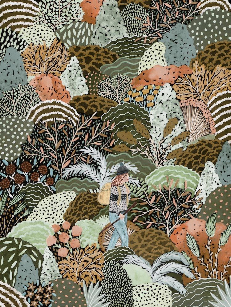 Curso de lustraciones botánicas por Sara Boccaccini Meadows