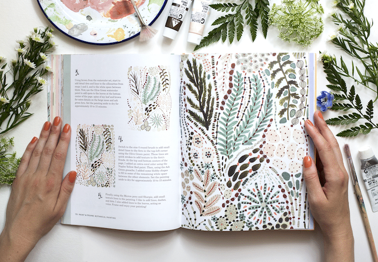 Botanical Illustration Skillshare Class by Sara Boccaccini Meadows