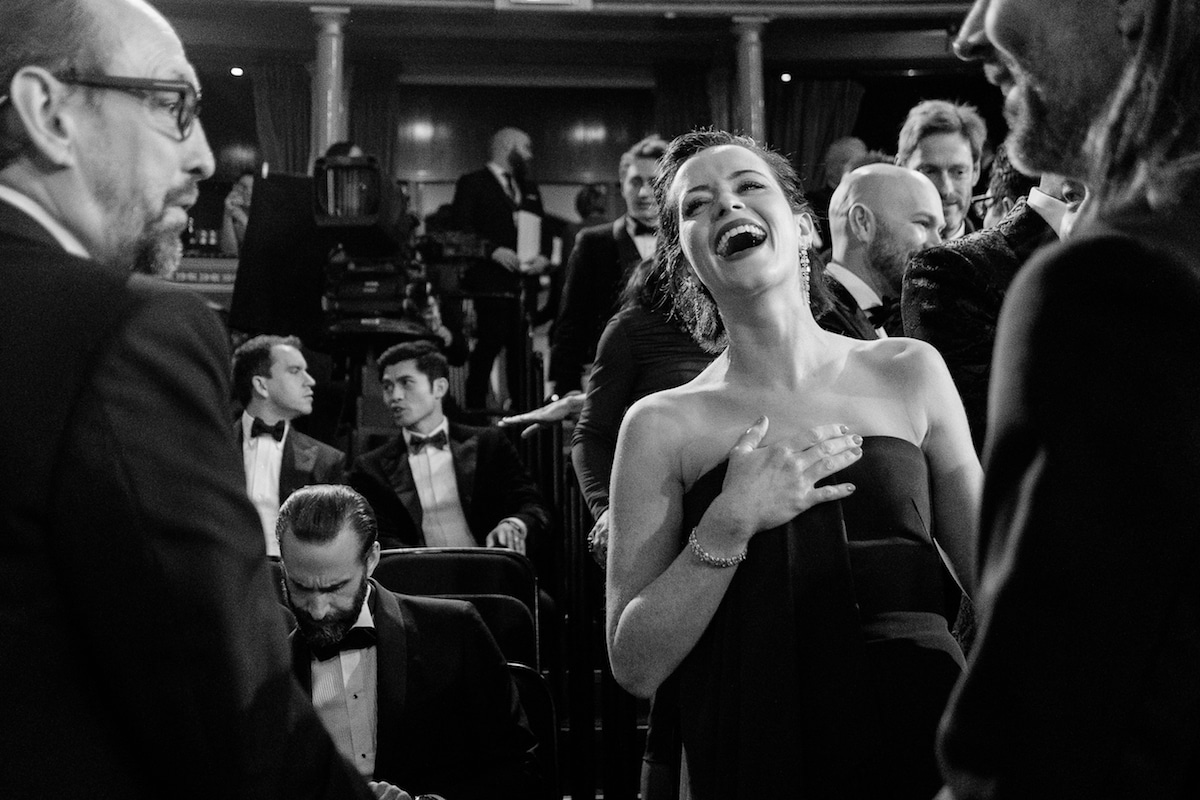 Backstage at the BAFTAs by Charlie Clift