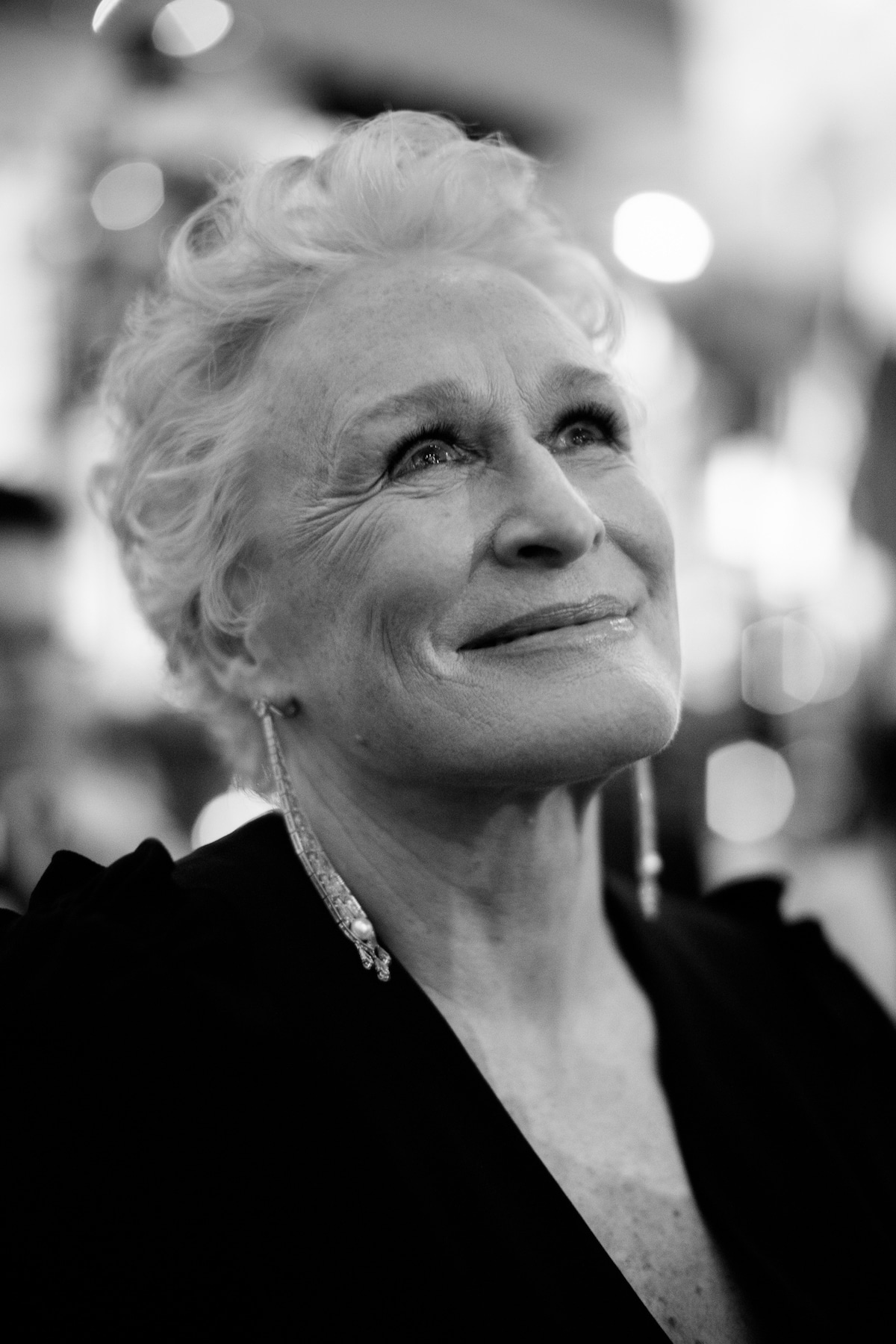 Glenn Close at the BAFTAs by Charlie Clift