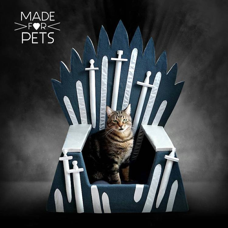 Games of Thrones Cat Bed