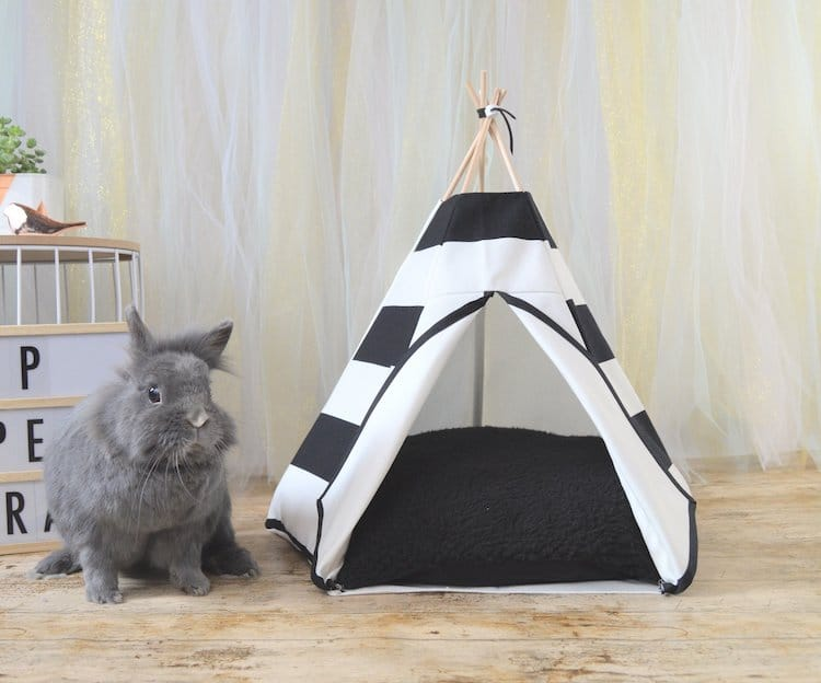 Chic Rabbit Bed Shaped Like a Teepee