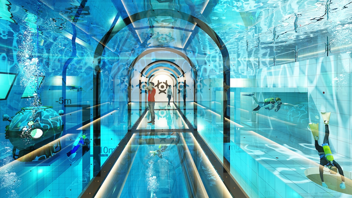 Deepspot - World's Deepest Pool