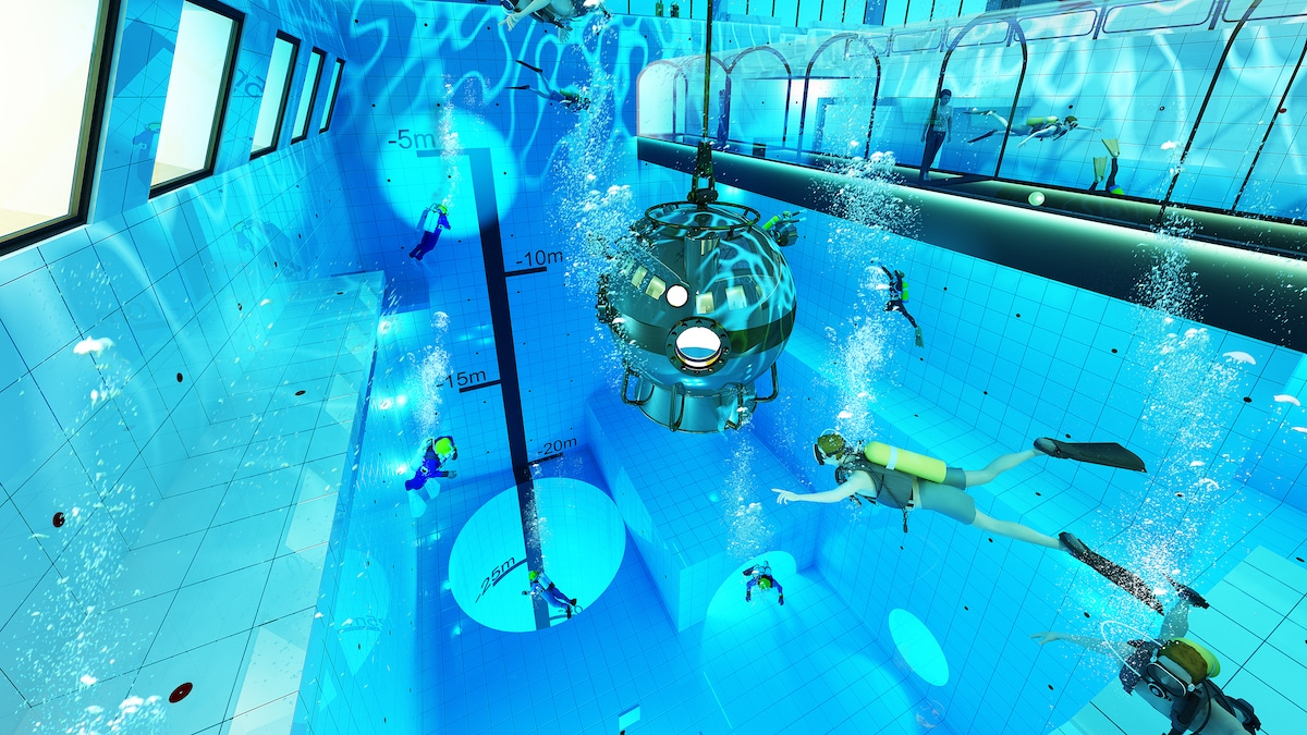 Where is the World's Deepest Pool?