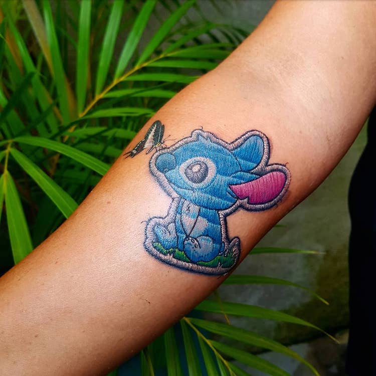 Patch Tattoos by Duda Lozano