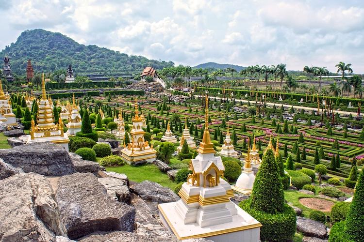 Nong Nooch Tropical BotanicalGarden in Thailand