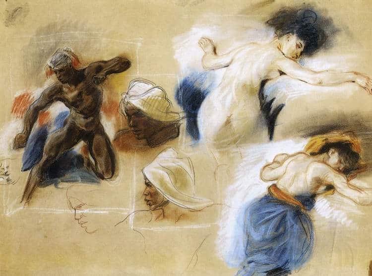 Delacroix Pastel
