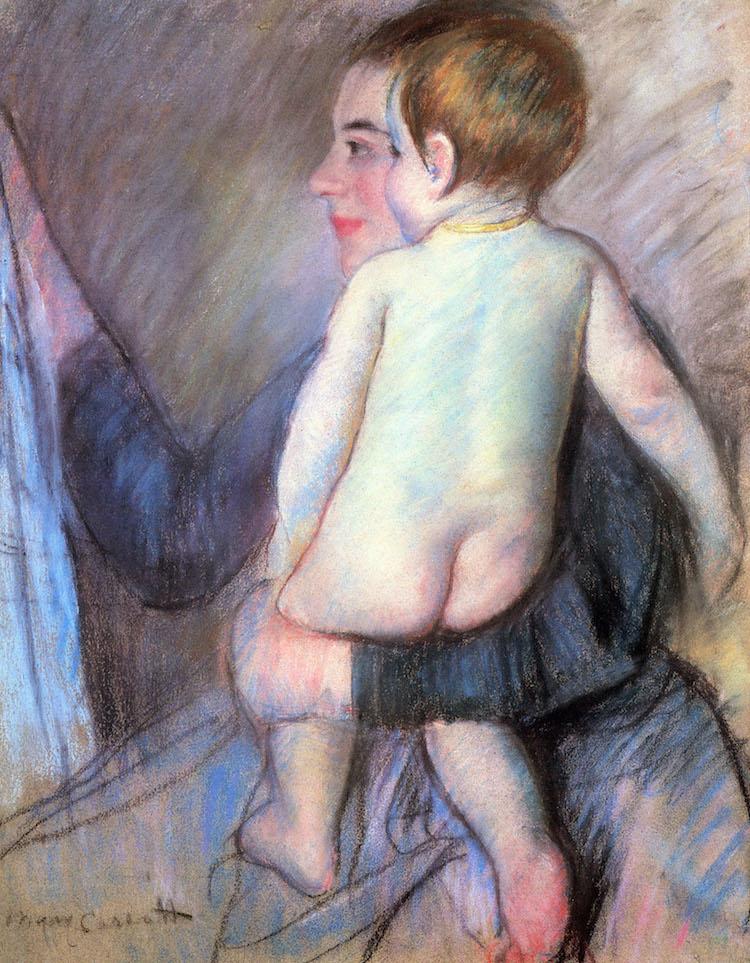 Mary Cassatt Pastel