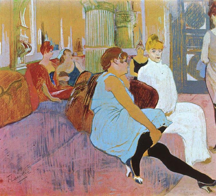 Toulouse-Lautrec Pastel