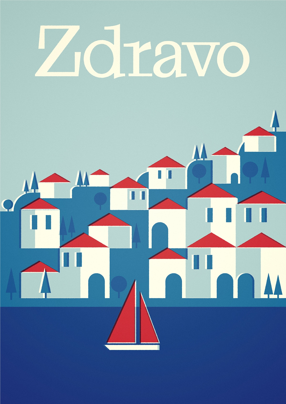 Croatia Poster by Stanley Chow and David Sedgwick