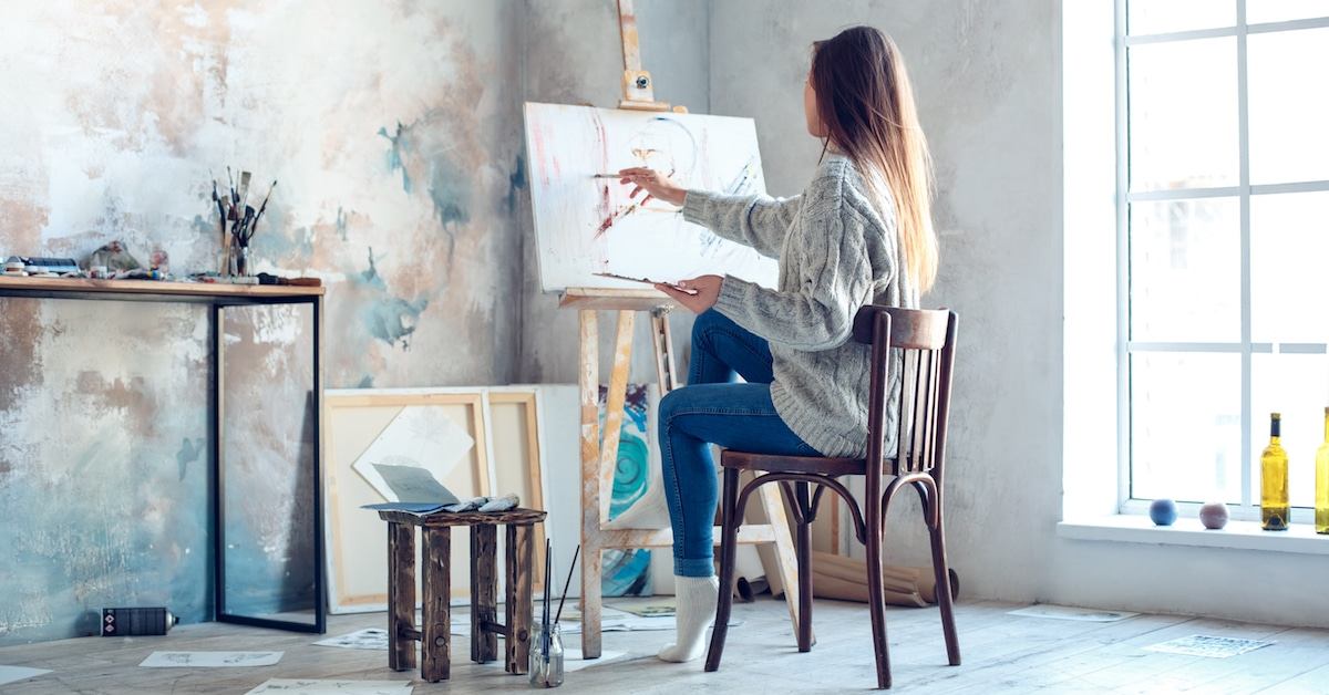 Everything Youll Need For Setting Up Your Own Home Art Studio