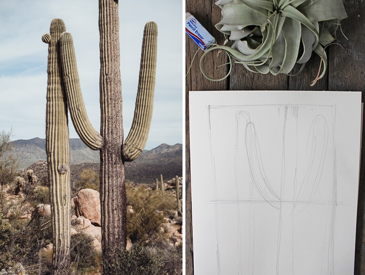 Cómo dibujar un paisaje realista paso a paso