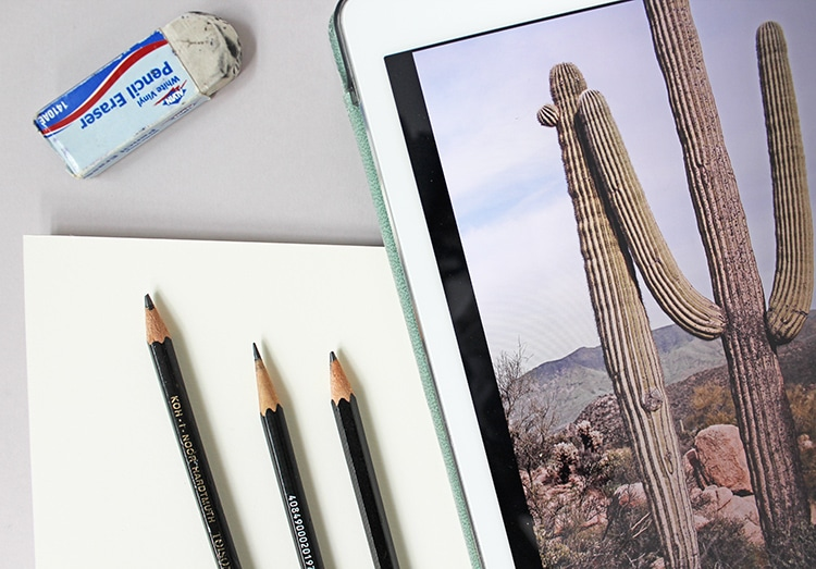 follow these 4 steps to complete any landscape drawing