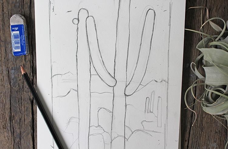 Cómo dibujar paisajes paso a paso