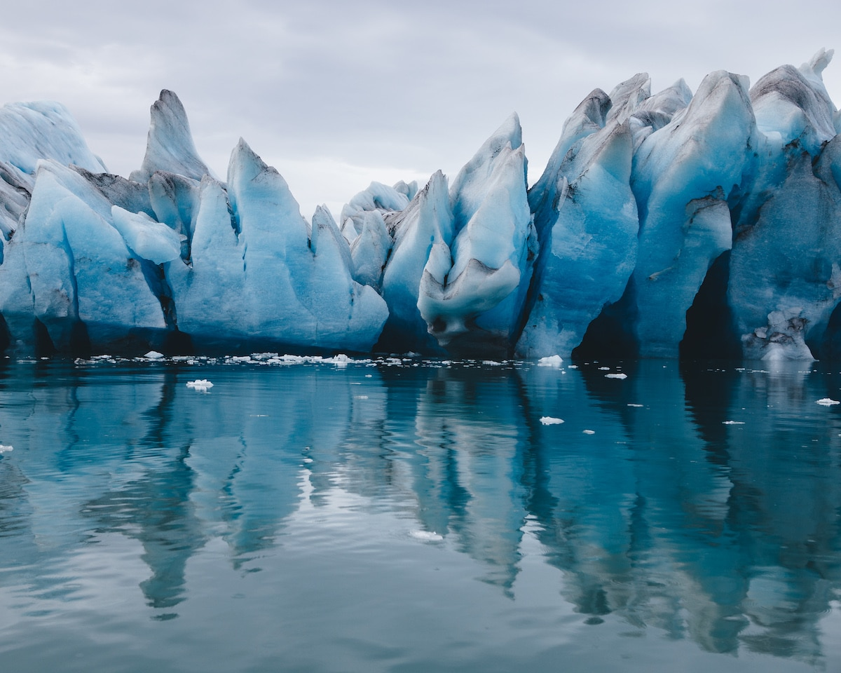 Iceberg in Iceland by Sarah Bethea