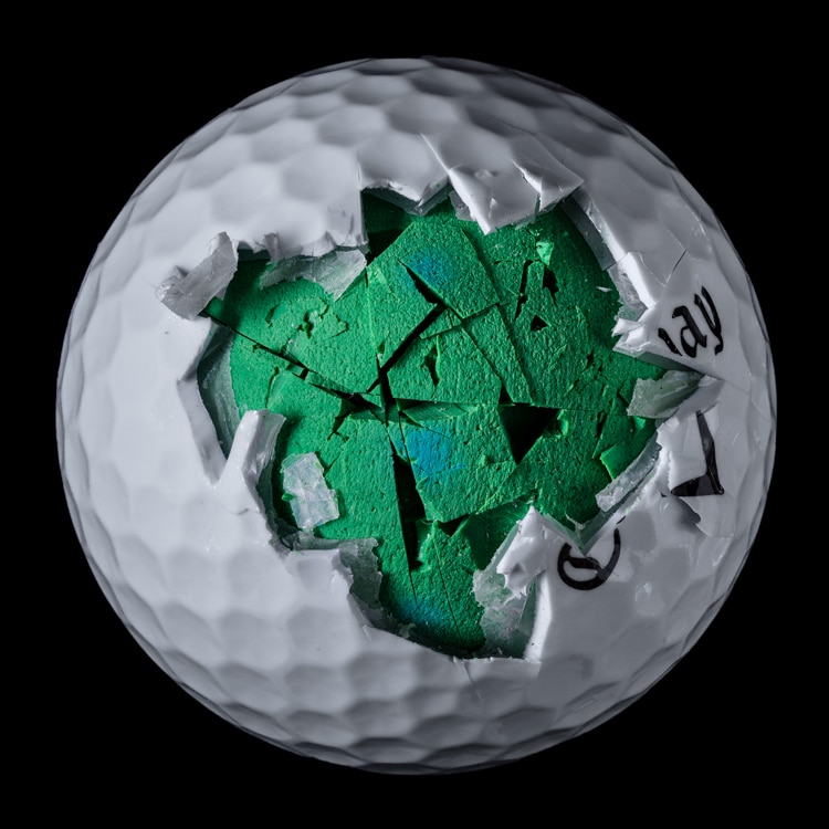 Inside of a Golf Ball Interior Design by James Friedman