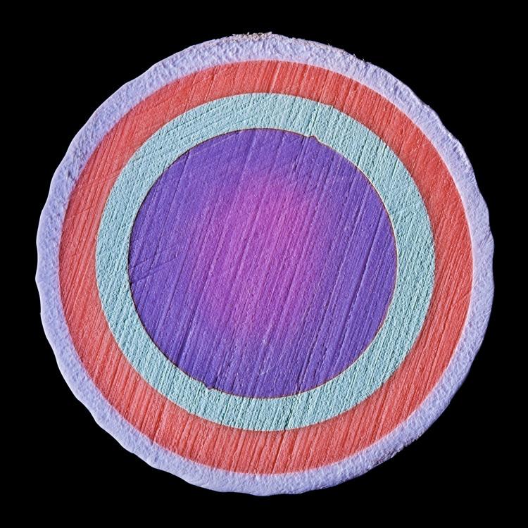 Interior de una pelota de golf por James Friedman