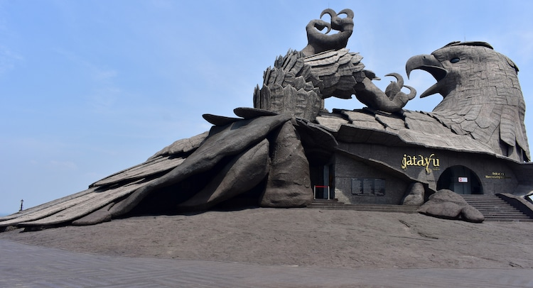 The World S Largest Bird Sculpture Doubles As The Roof Of