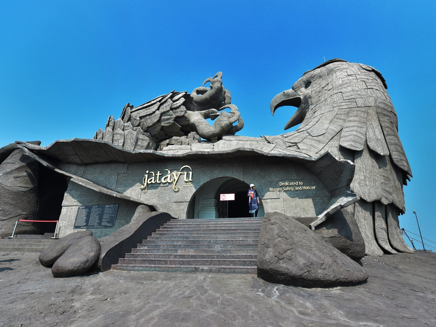 Jatayu, the World's Largest Bird Sculpture