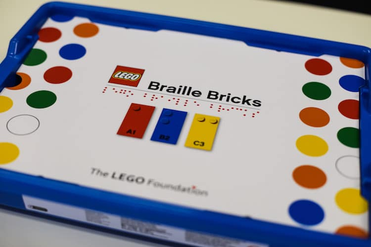 LEGO Braille Bricks Help Kids Learn Braille