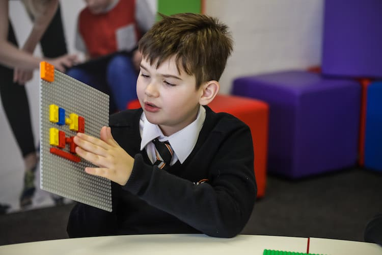 Learn Braille With Lego