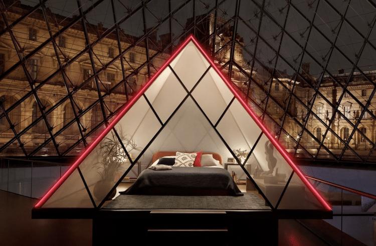 concurso airbnb louvre pasa la noche el louvre