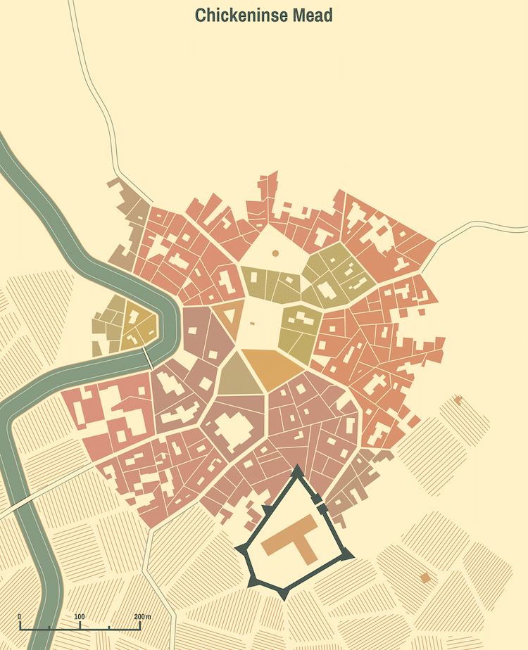 This Medieval City Fantasy Generator is Highly Addictive