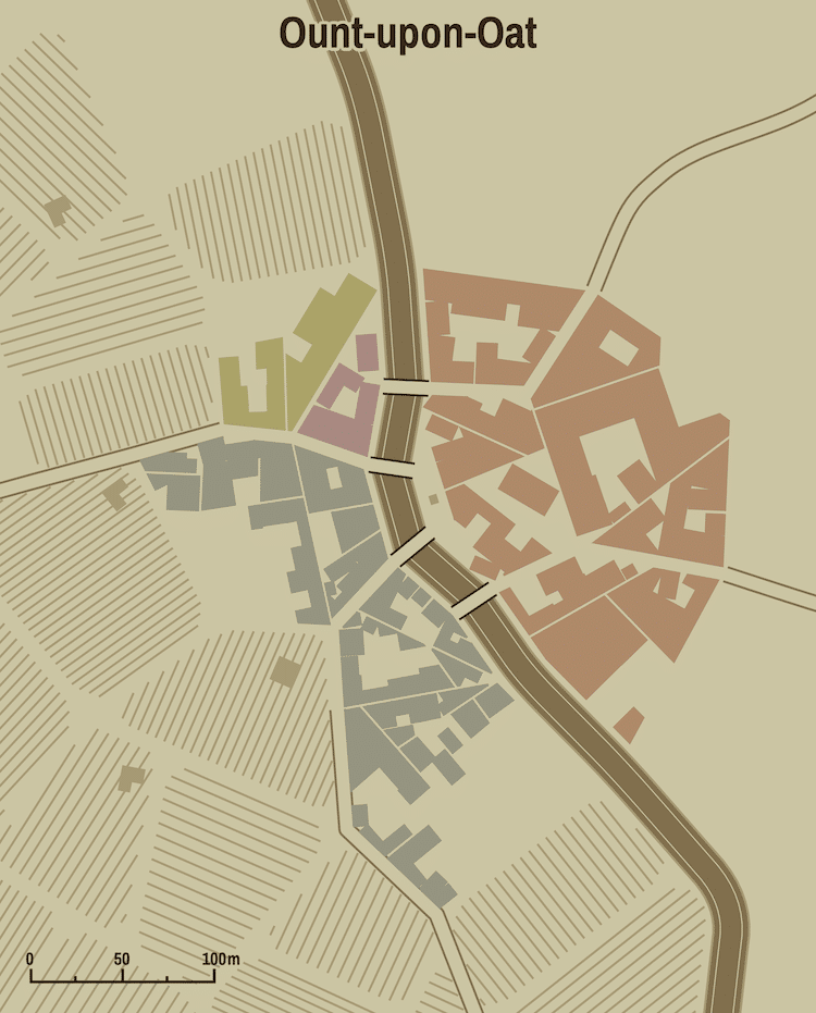 Mapa de fantasía generado por computadora