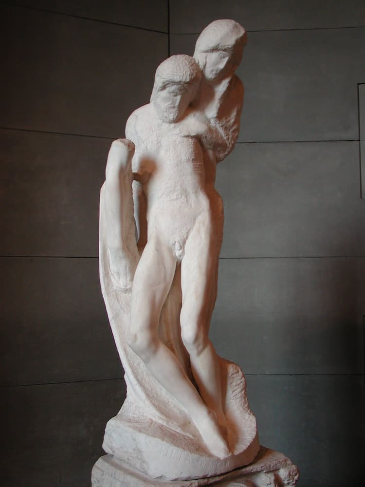 Michelangelo's Last Sculpture