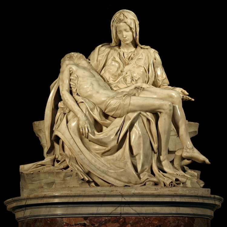 La Pieta by Michelangelo at St. Peter's Basilica