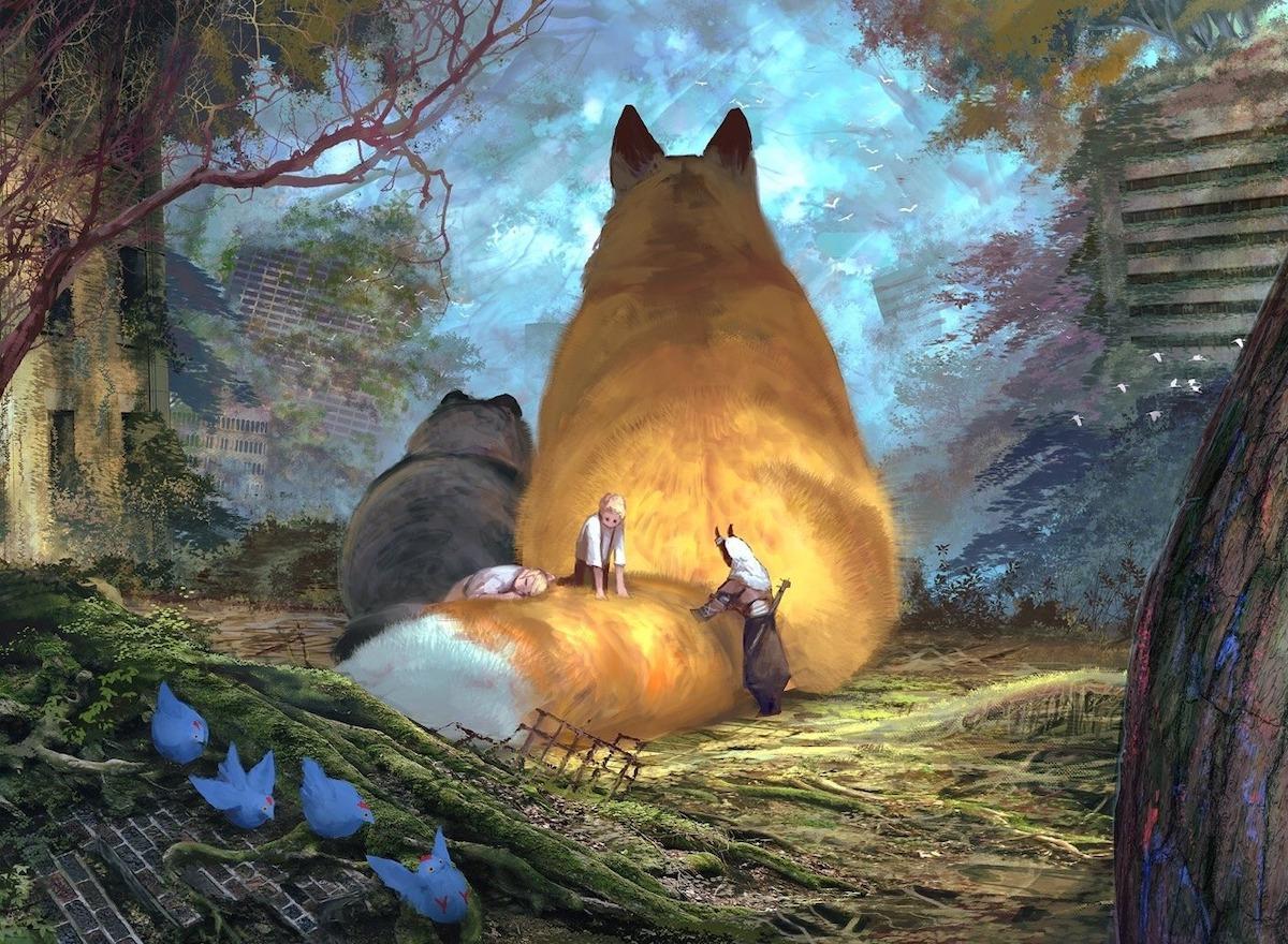 Arte digital de fantasía por Monokubo