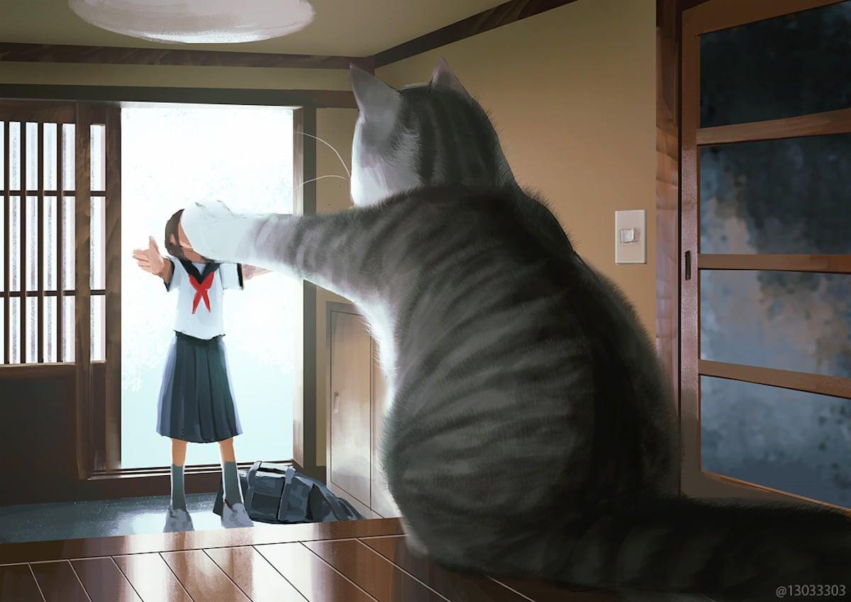 Ilustración digital por Monokubo