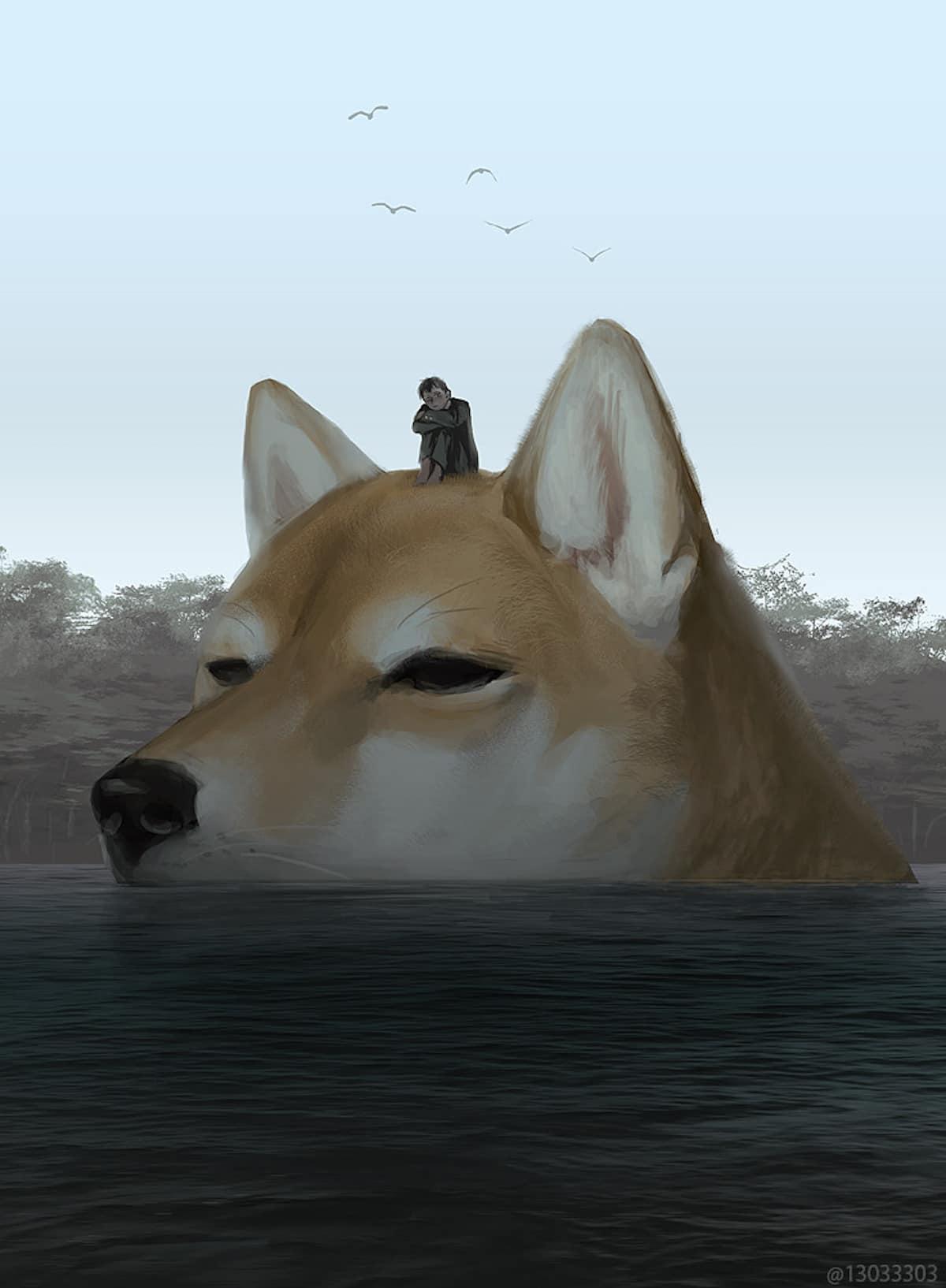 Fantasy Digital Art by Monokubo