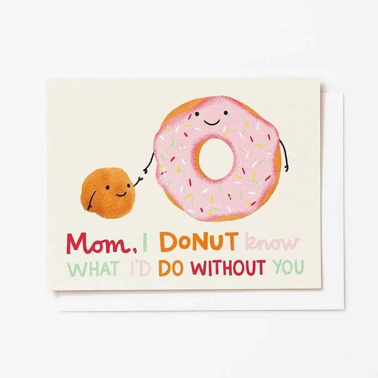 Donut Pun Greeting Card
