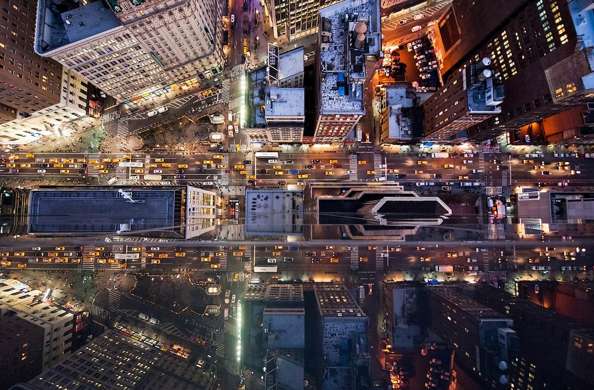 Fotos aéreas de Nueva York por Navid Baraty