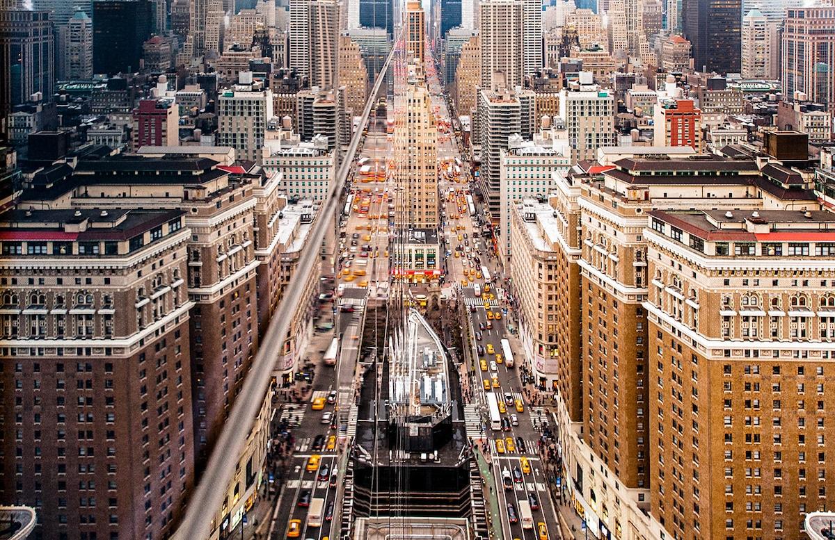 Fotografía paisaje urbano Nueva York