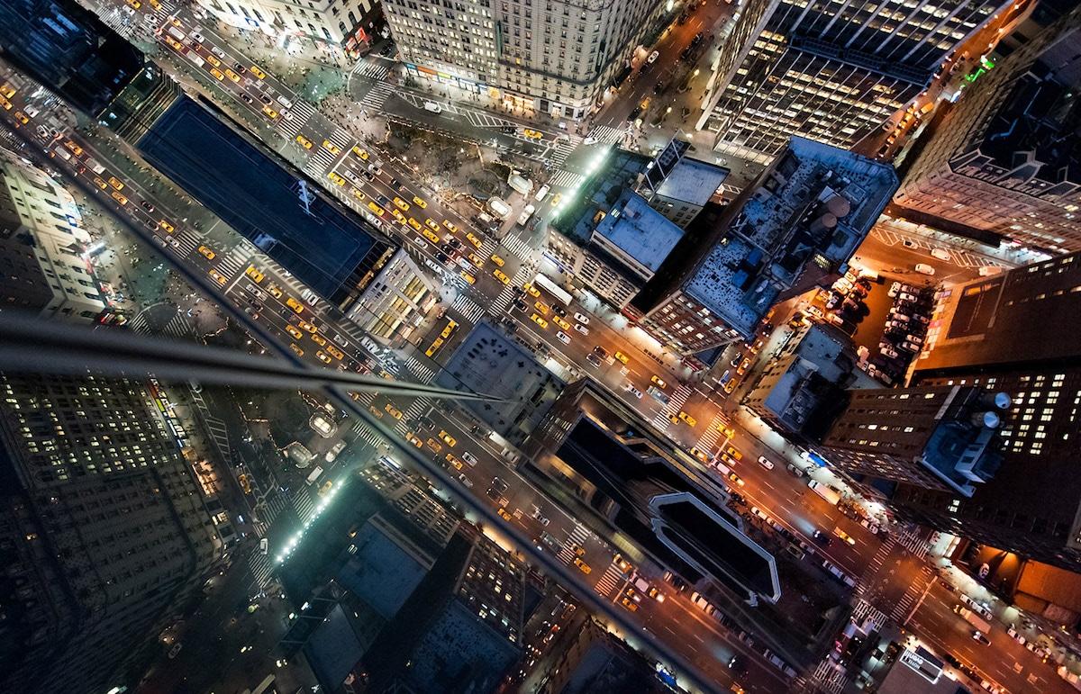 Fotos aéreas de Nueva York