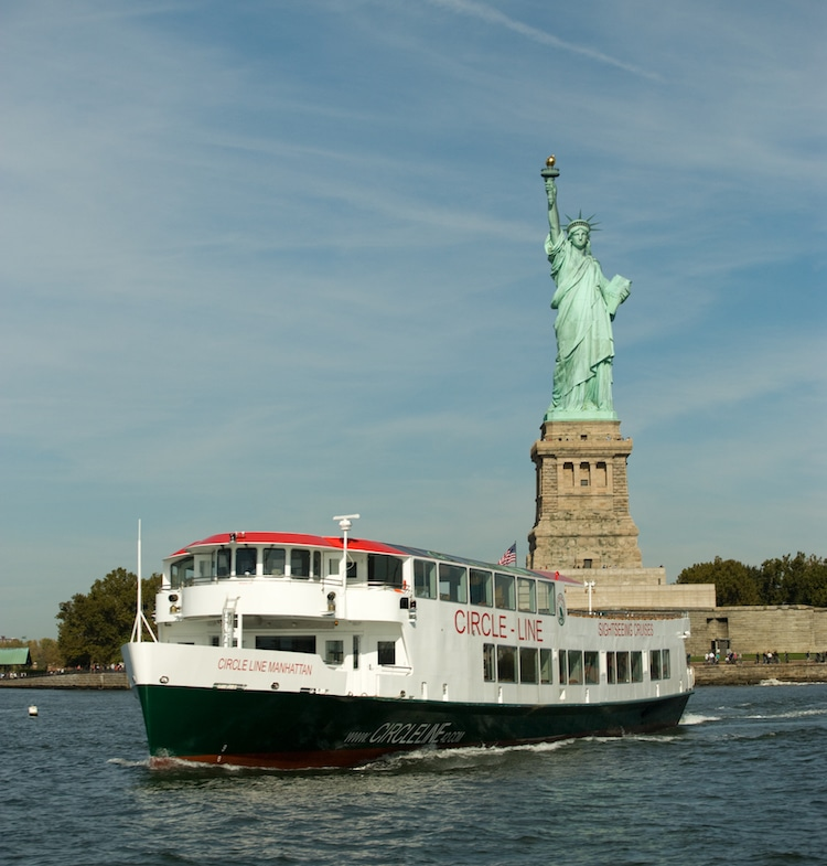 Statue of Liberty Ferry in New York City