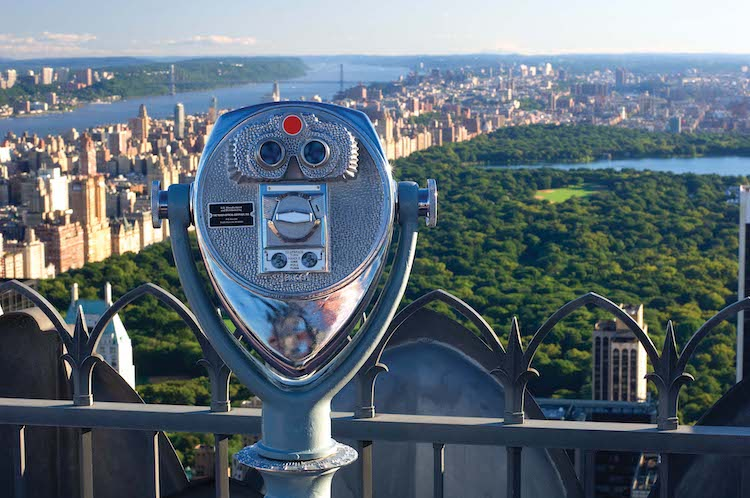 Top of the Rock in New York City