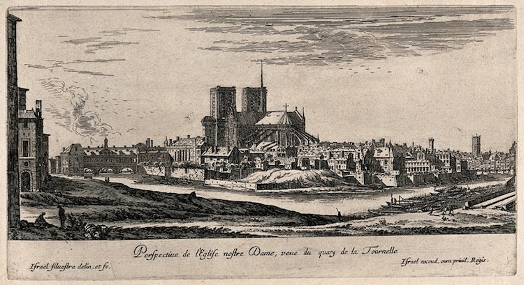 Notre-Dame Etching