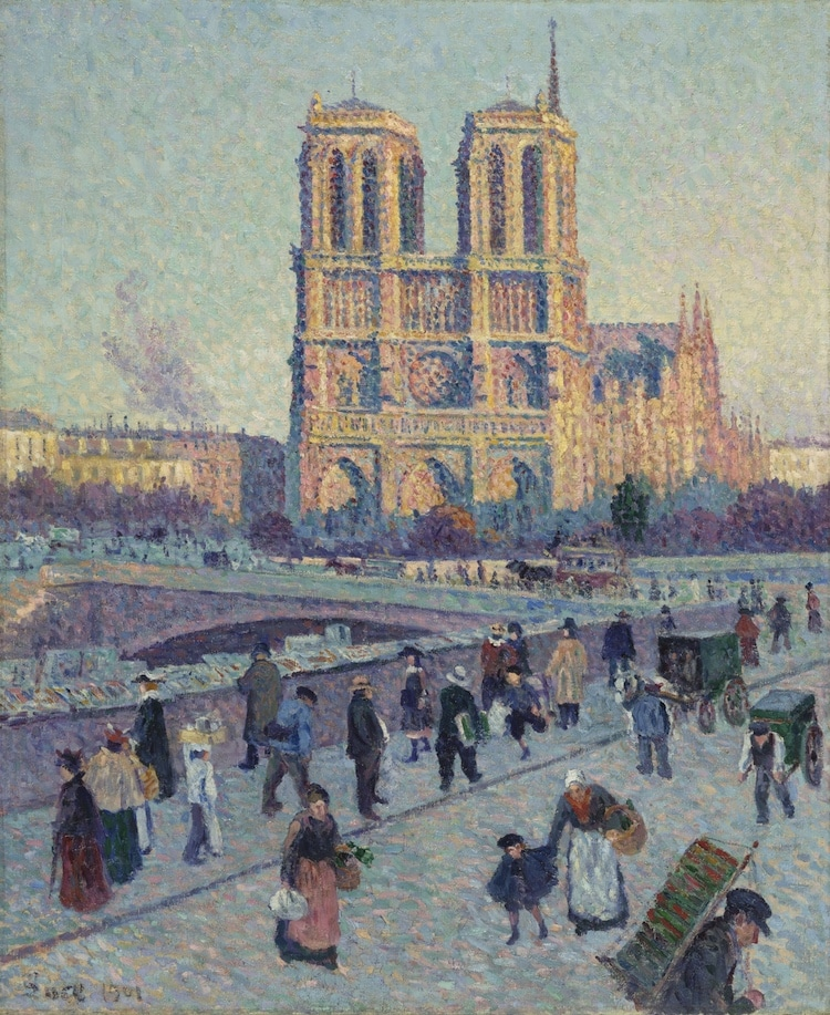 Notre-Dame in Art History