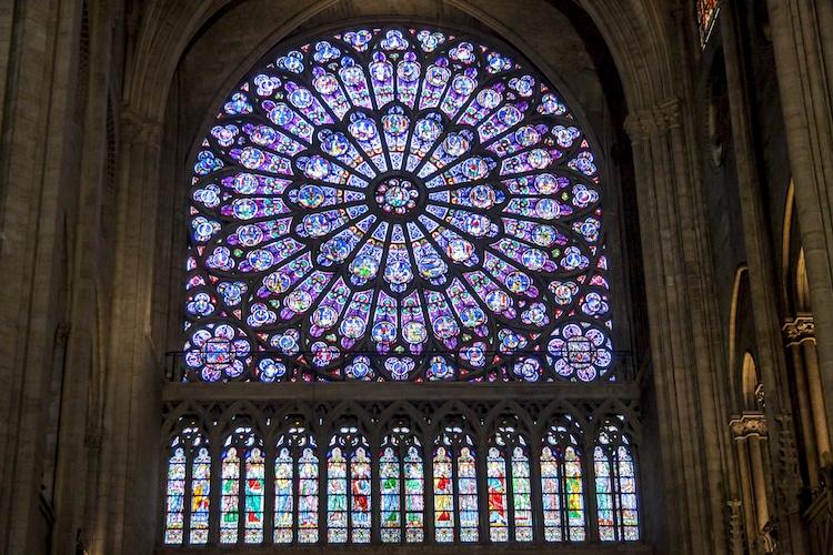 Rosetones de Notre Dame