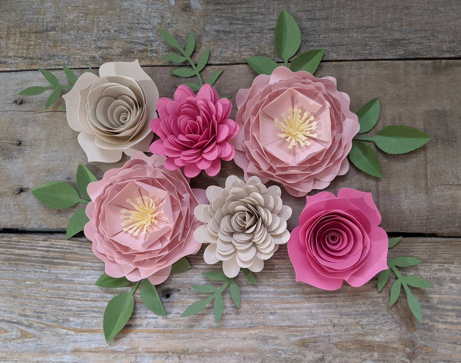 Paper Flowers Kit