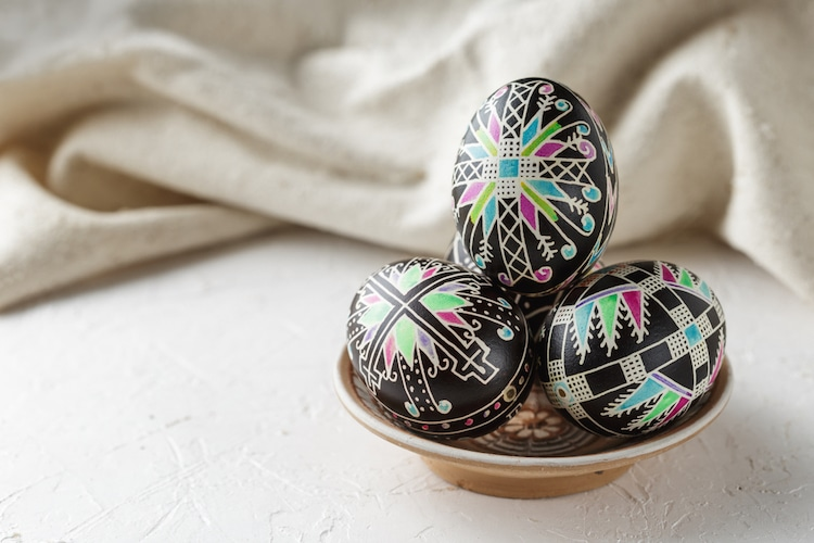 Modern Pysanky Patterns