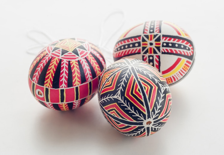 Pysanky Eggs for Easter