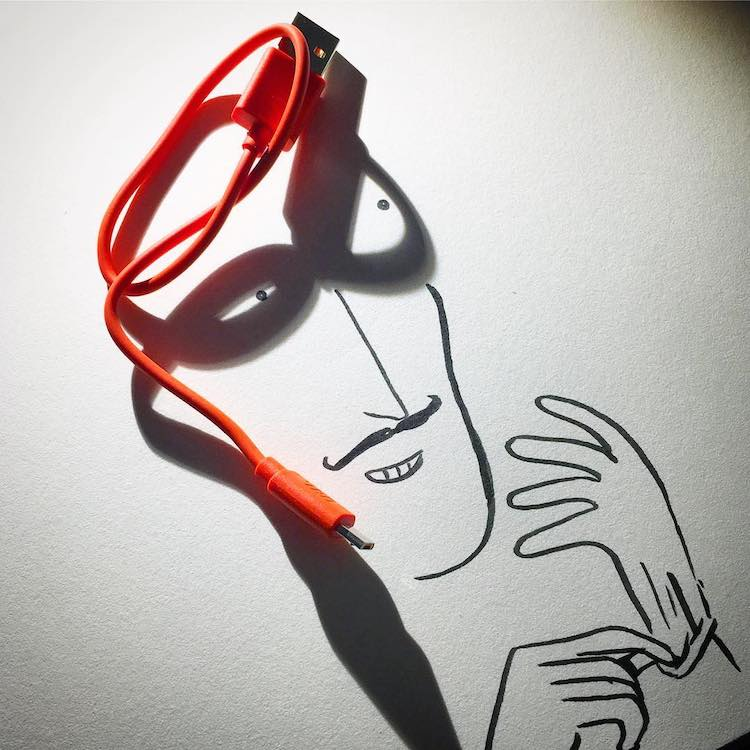 Shadow Art by Vincent Bal