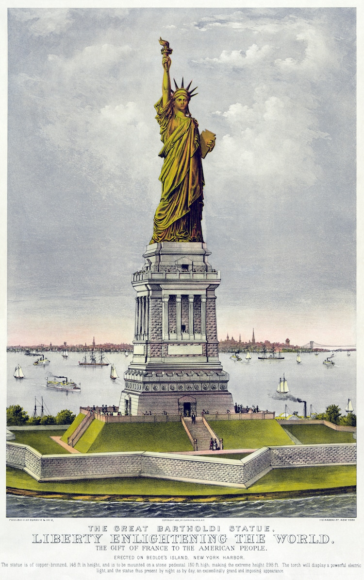 Statue of Liberty Real Name