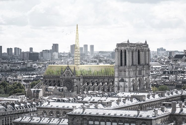 Notre-Dame Renovation Concept by Studio NAB